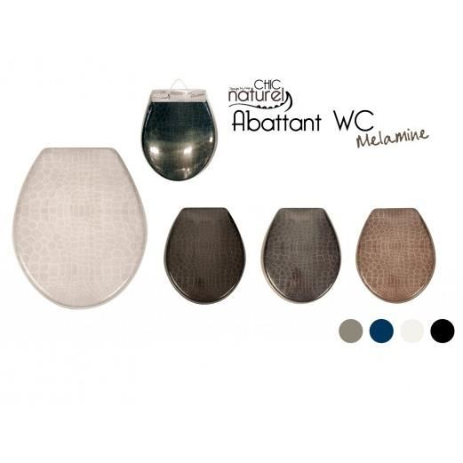abattant wc marron