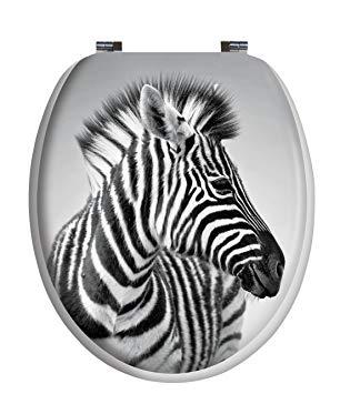 abattant wc zebre