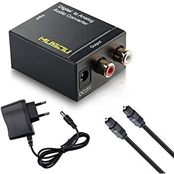 adaptateur cable optique rca