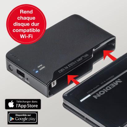 adaptateur wifi pour disque dur externe