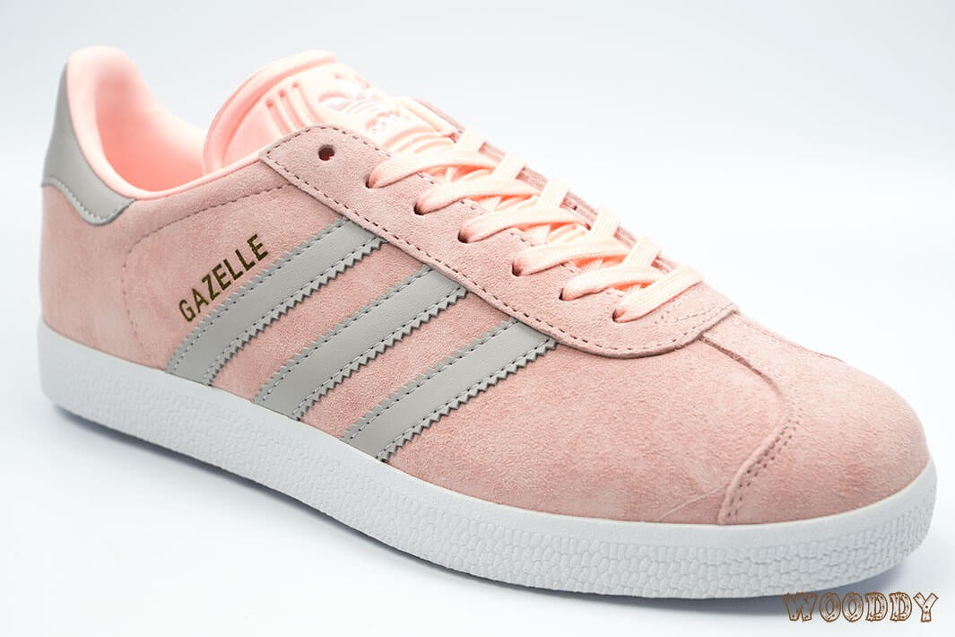 adidas gazelle gris rose