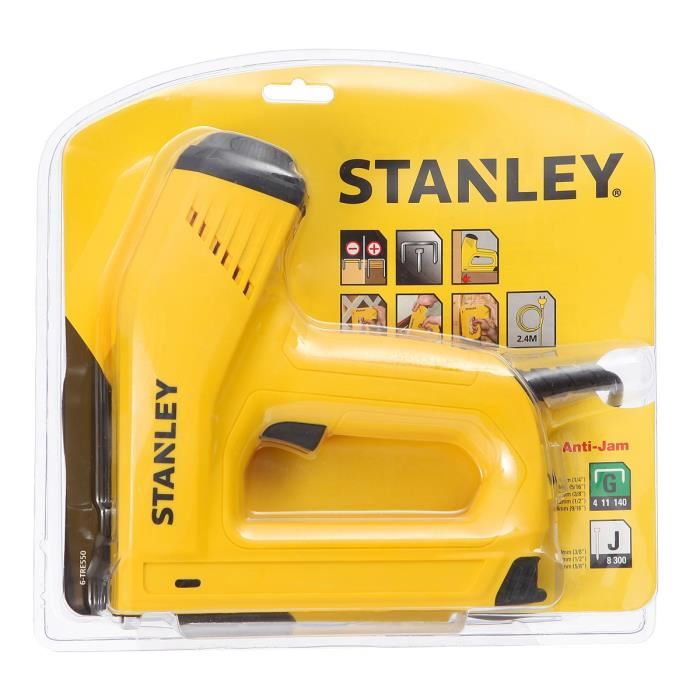 agrafeuse electrique stanley