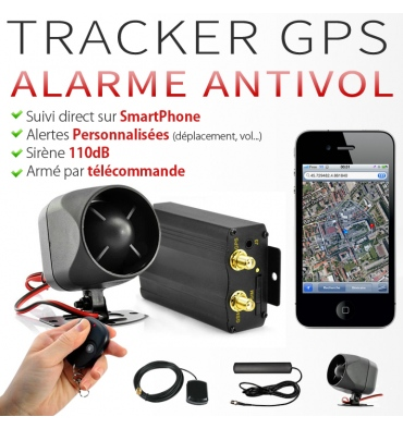 alarme gps voiture