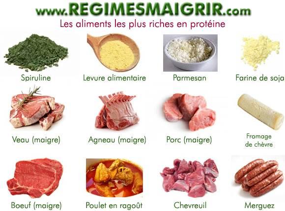 aliment source de protéine