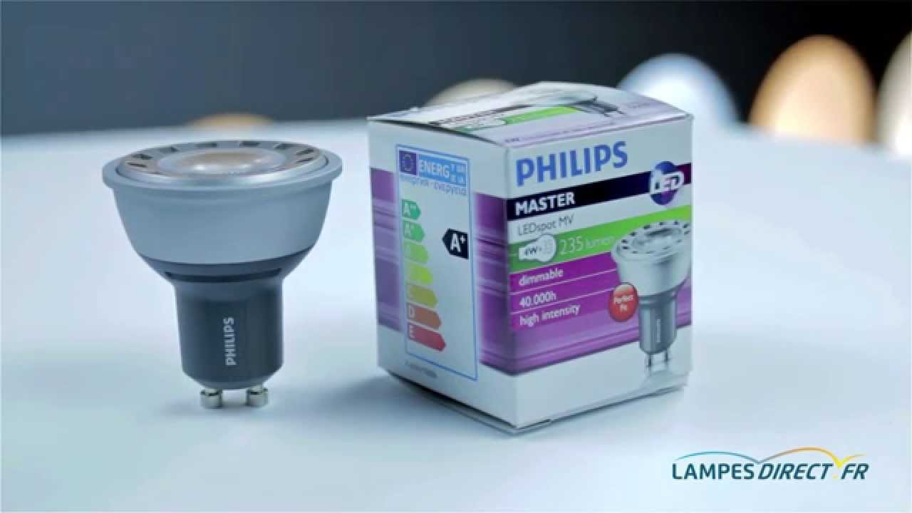ampoule gu10 led philips