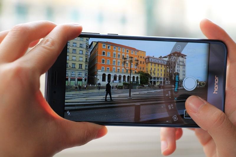 appareil photo sur smartphone