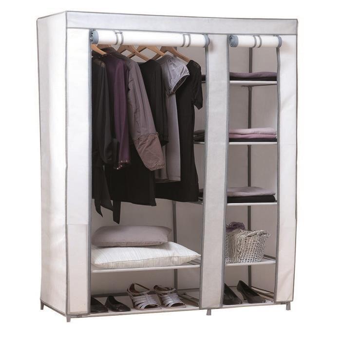 armoire avec housse tissu