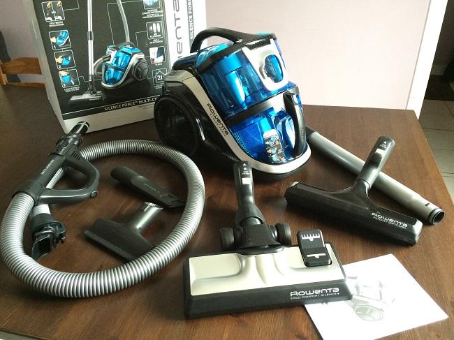aspirateur rowenta cyclonique silencieux