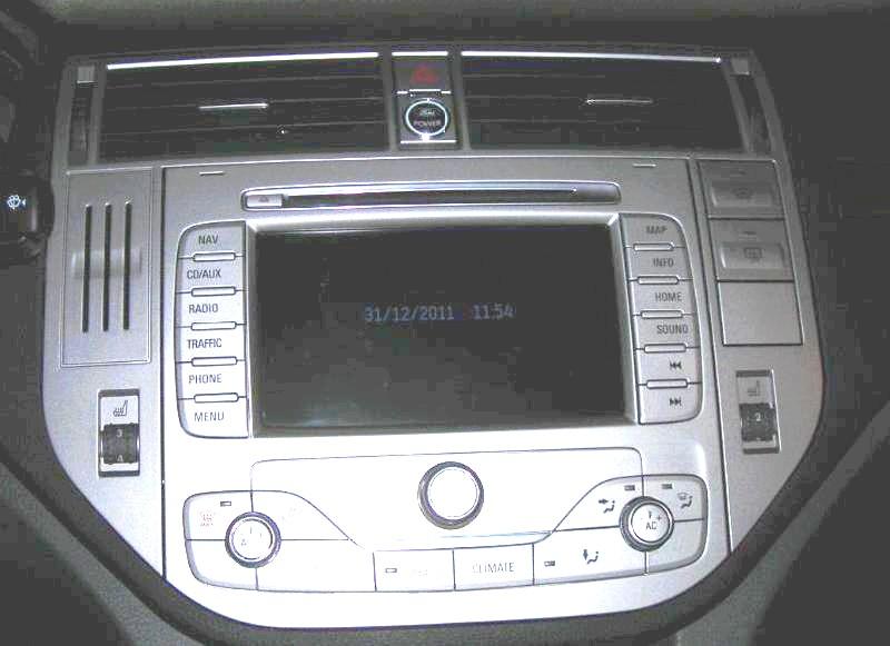 autoradio gps ford kuga 2008