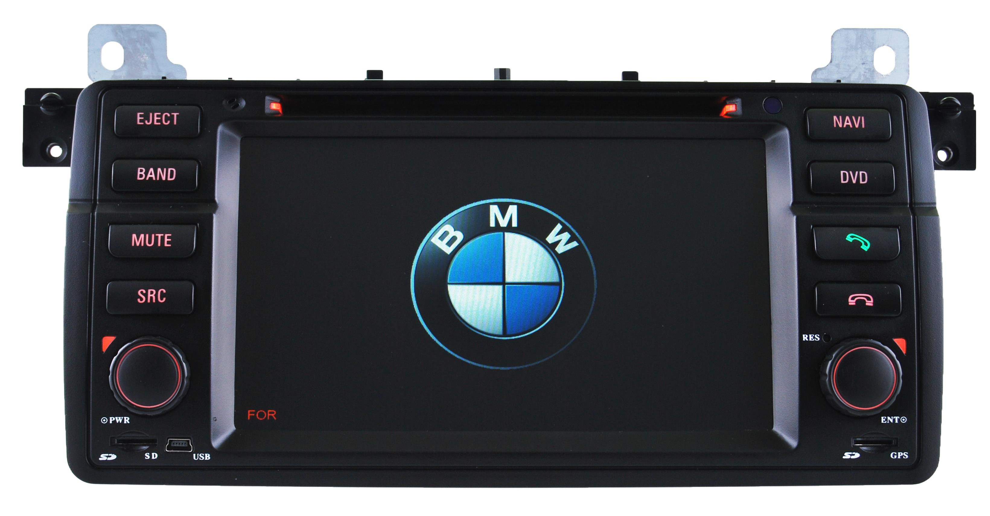 autoradio gps pour bmw e46