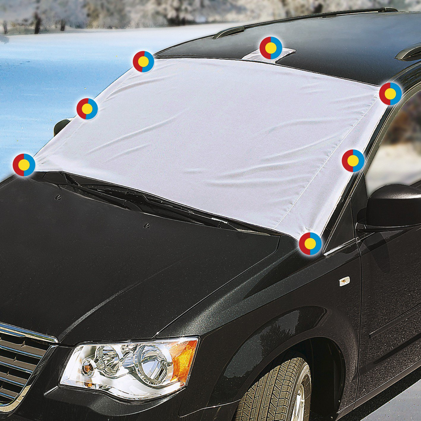 bache antigel voiture
