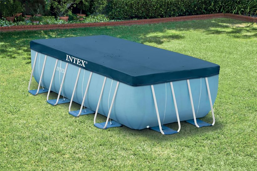 bache piscine intex