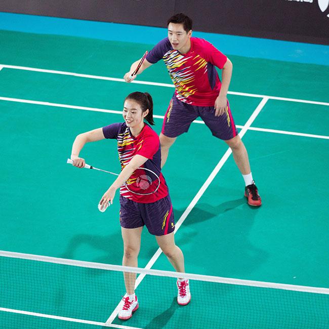 badminton femme