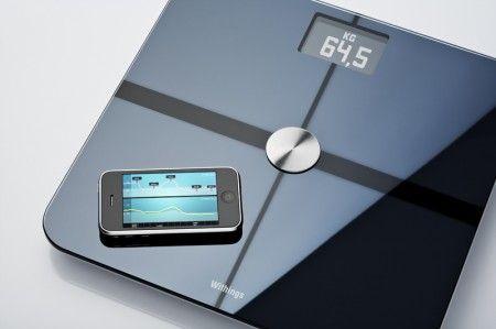 balance connectée iphone