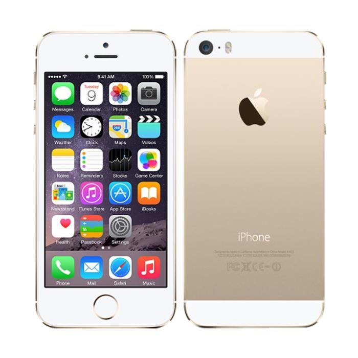 apple iphone 5s 32 go argent gsm