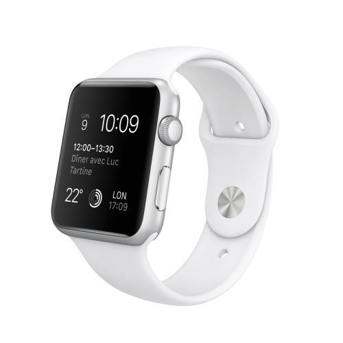apple watch blanche