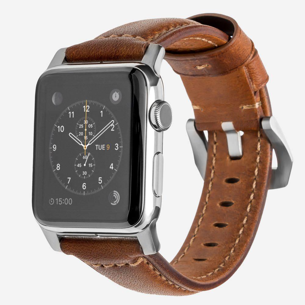 apple watch bracelet cuir