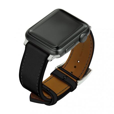 apple watch cuir