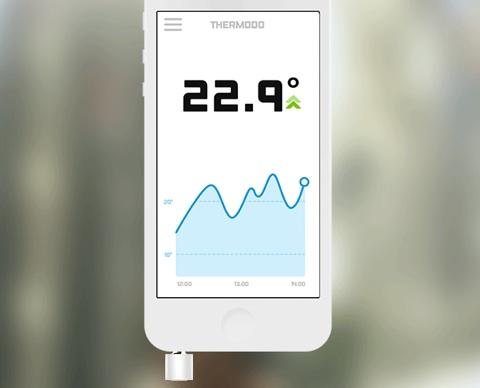 application temperature interieur maison