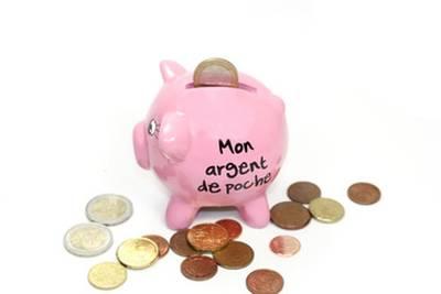 argent de poche dessin
