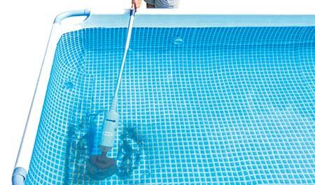 aspirateur pour piscine tubulaire