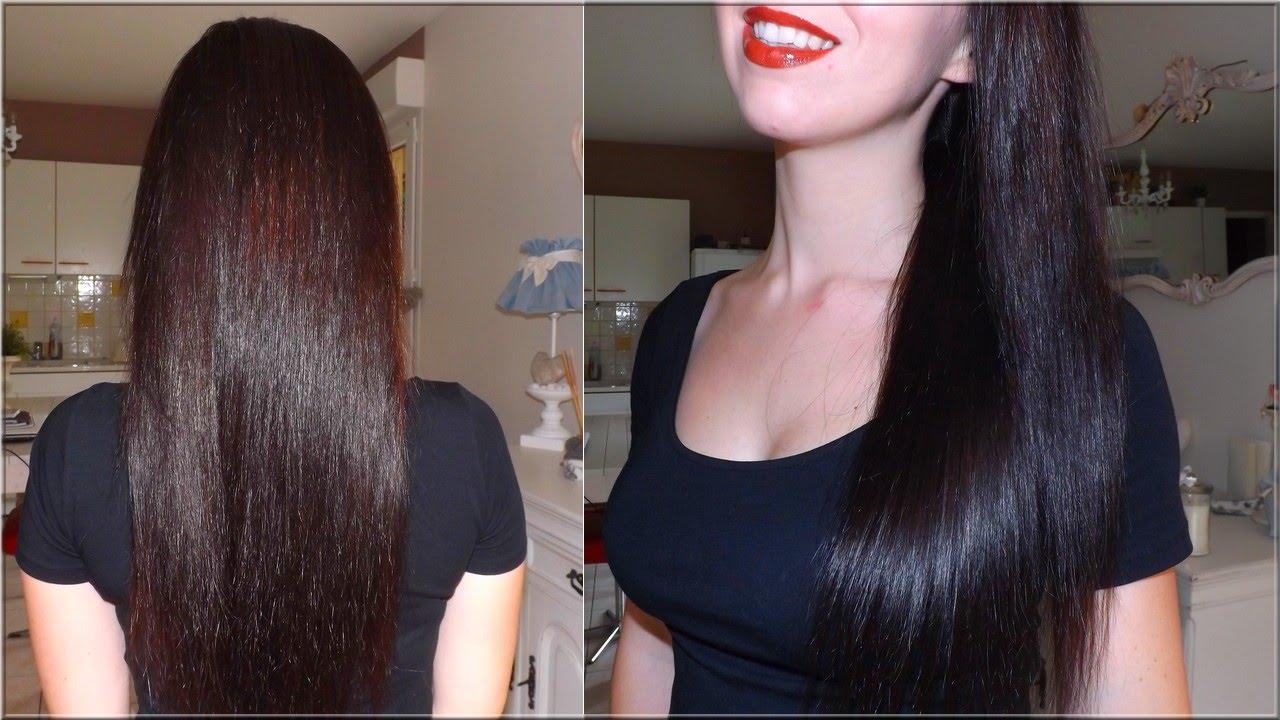 avoir les cheveux lisses sans lisseur