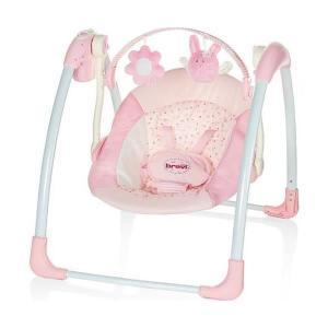 balancelle bébé rose