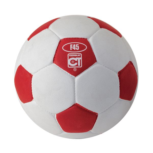 ballon foot rouge