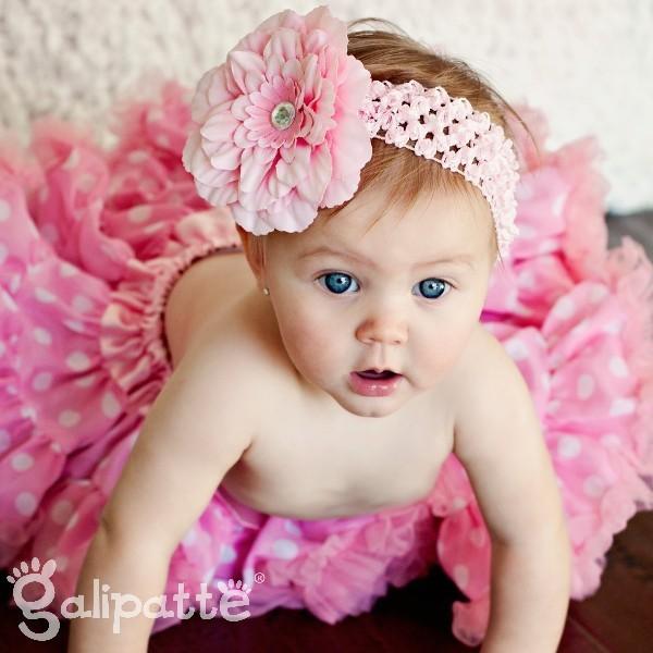 bandeau fleur bebe
