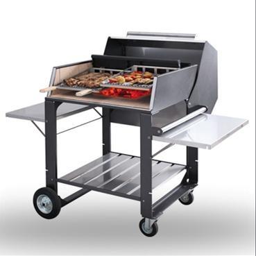 barbecue au bois