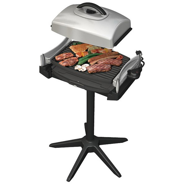 barbecue electrique avec plancha
