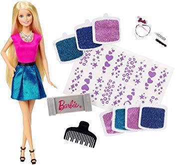 barbie style et paillettes
