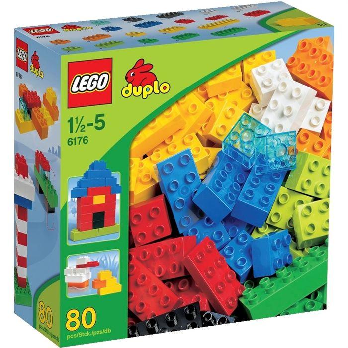 baril de briques lego duplo