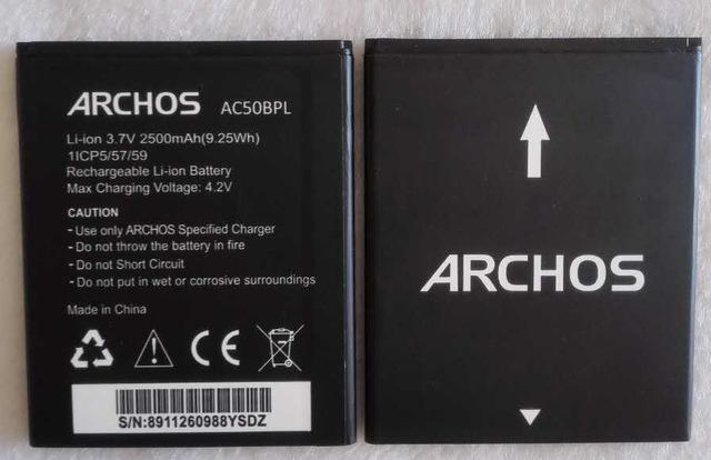 batterie archos 50 platinum