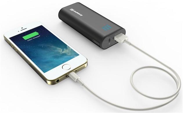 batterie de secours pour téléphone portable