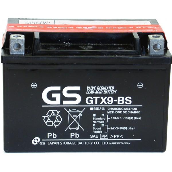 batterie moto gtx9 bs