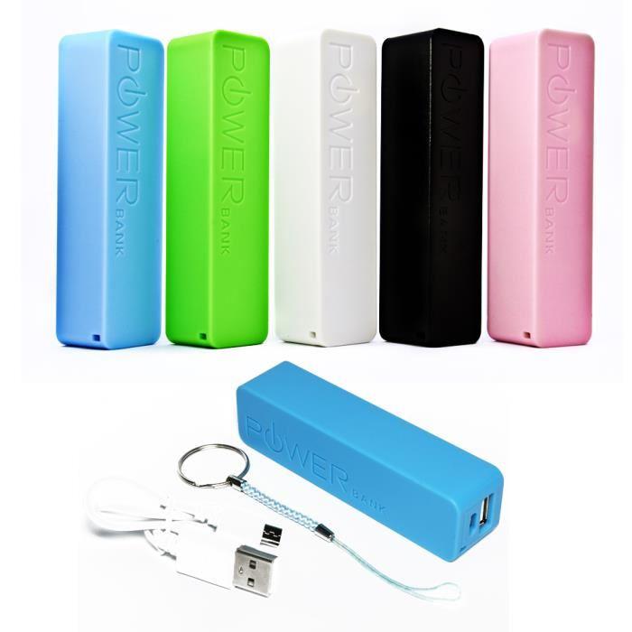 batterie power bank 2600mah