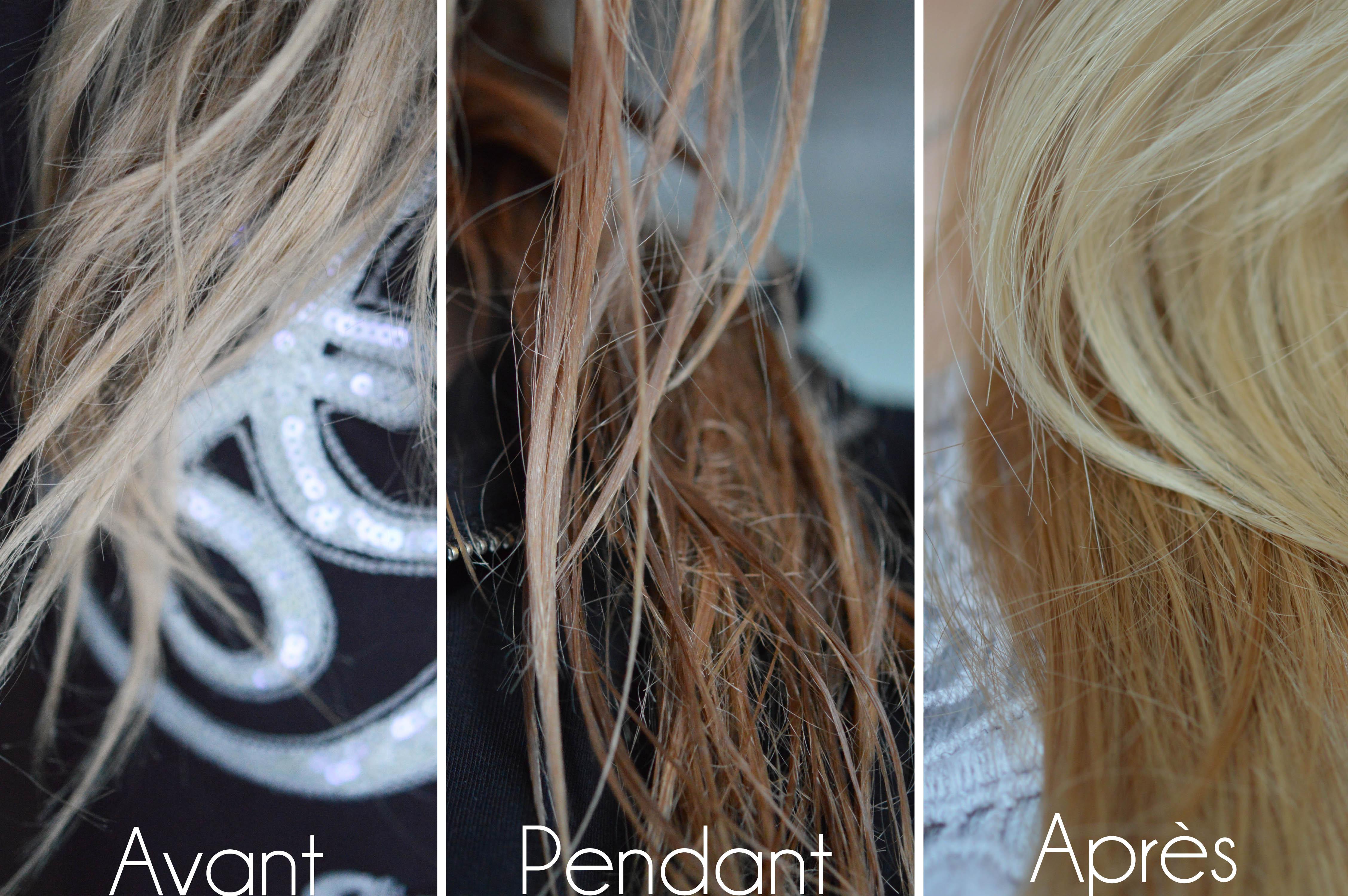 beurre cheveux