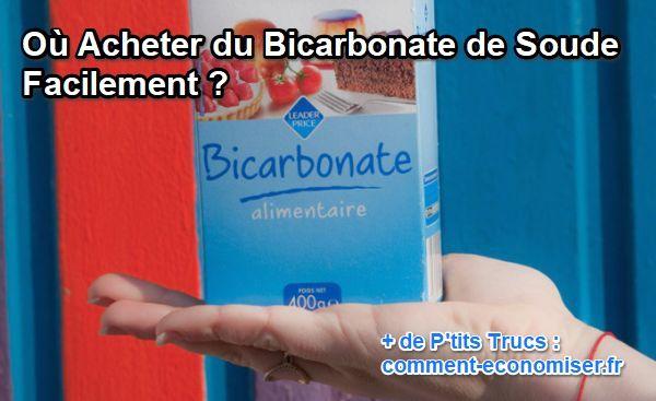 bicarbonate de soude ou en trouver