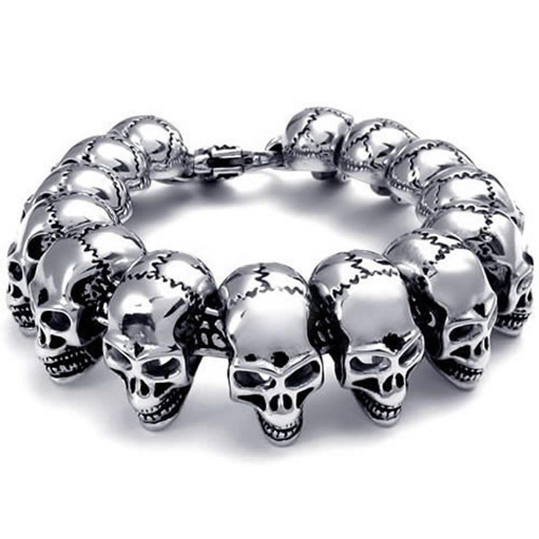 bijoux tete de mort homme