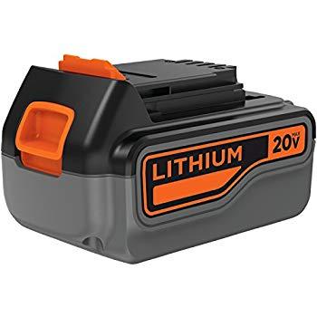 black & decker batteries