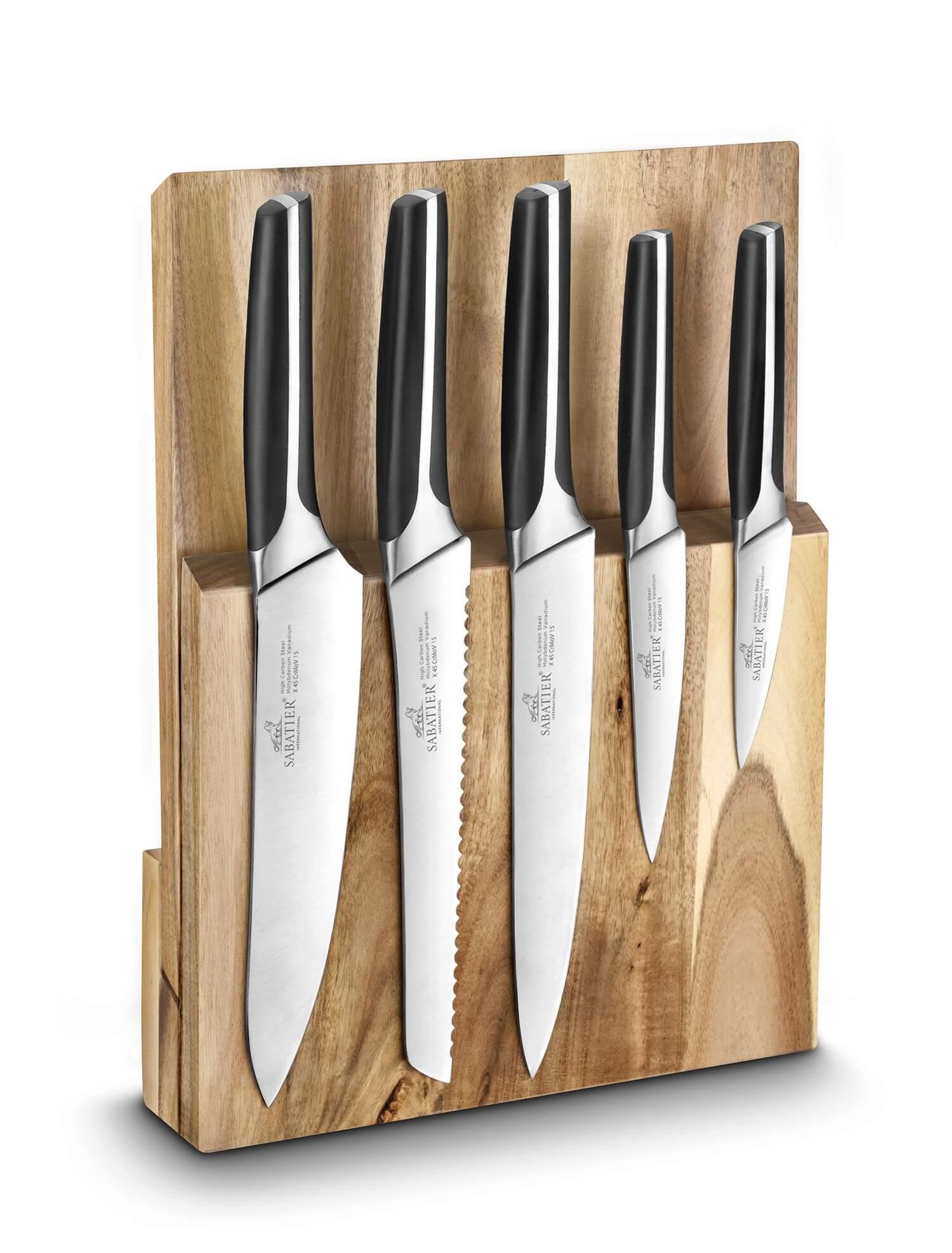 bloc couteaux de cuisine
