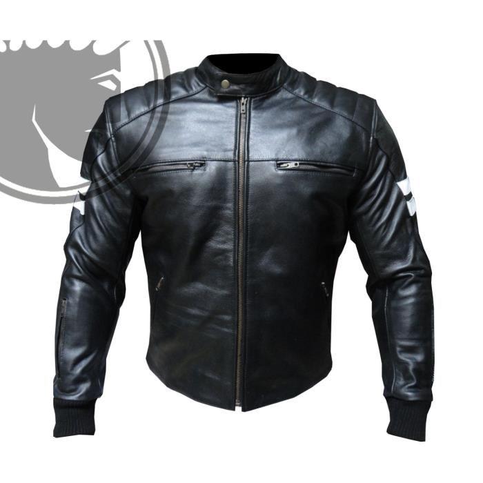 blouson de moto cuir