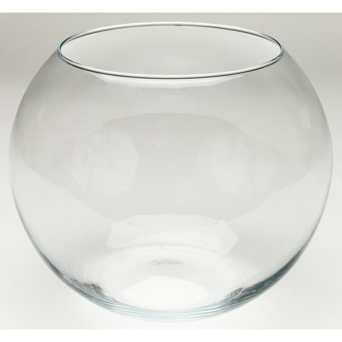 bocal en verre poisson