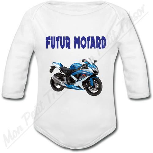 body bébé moto