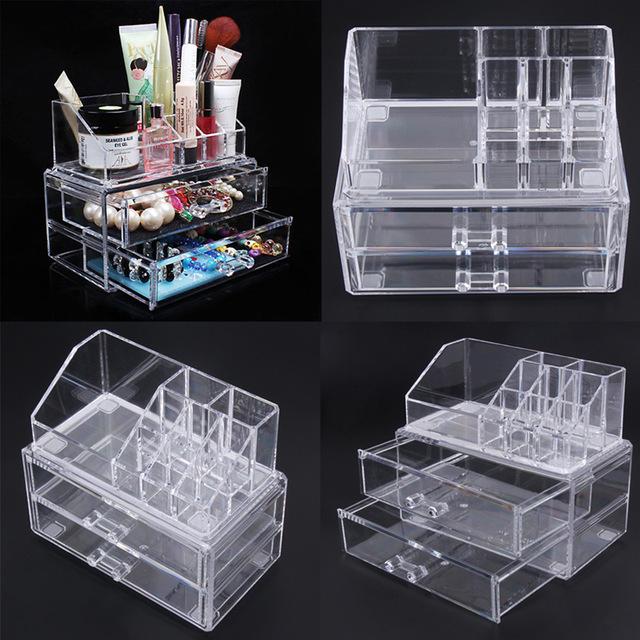 boite maquillage acrylique