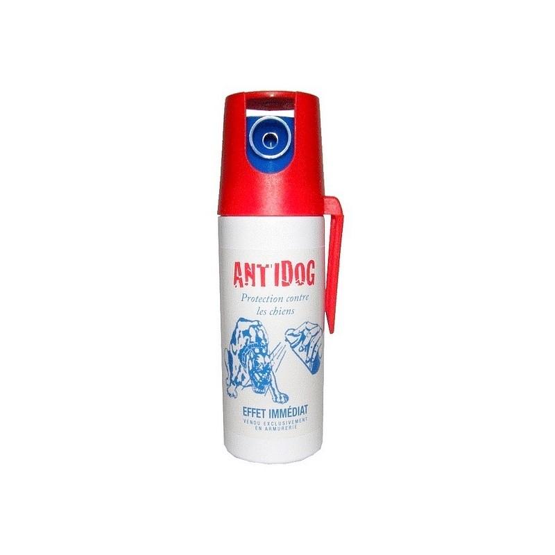 bombe lacrymogene anti chien