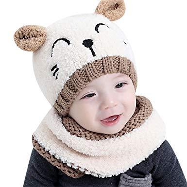 bonnet echarpe fille