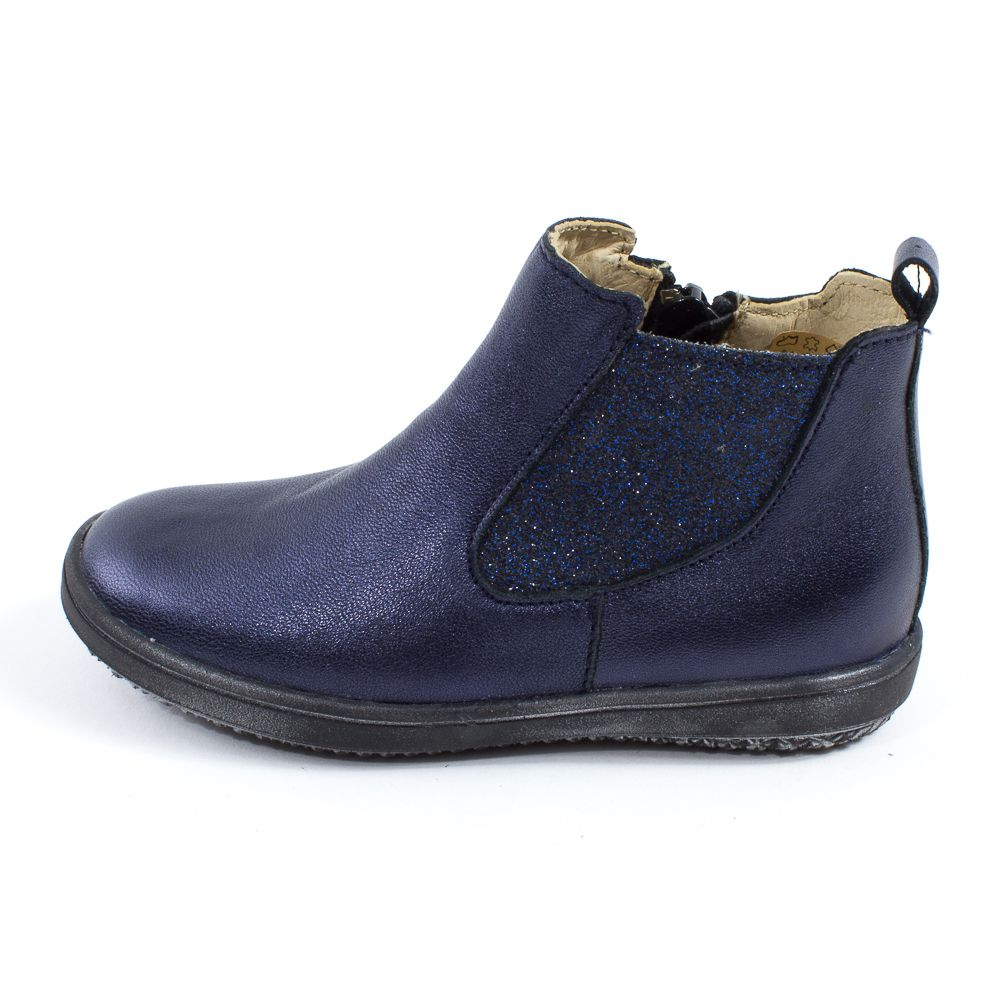 bottines bleu marine fille