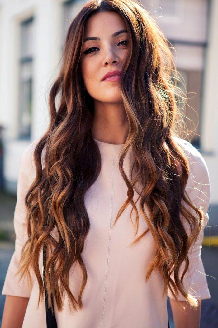 boucle cheveux long